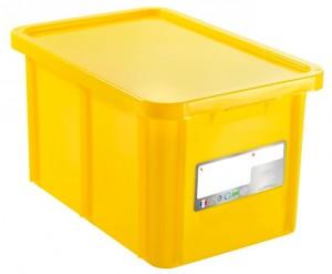 Bac Coloré 55L avec Couvercle - Devis sur Techni-Contact.com - 2