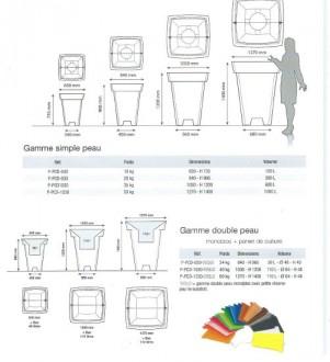 Bac carré en polyéthylène - Devis sur Techni-Contact.com - 3