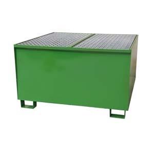 Bac de rétention acier pour 1 transicuve galvanisé - Devis sur Techni-Contact.com - 2