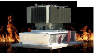 Bac de rétention anti feu pour transformateur électrique - Devis sur Techni-Contact.com - 1