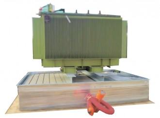 Bac de rétention anti feu pour transformateur électrique - Devis sur Techni-Contact.com - 2