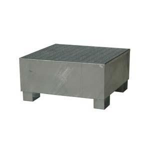Bac de rétention en acier 500 kg - Devis sur Techni-Contact.com - 2