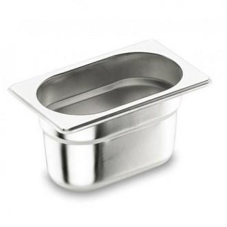 Bac gastronorme inox GN 1/9 - Devis sur Techni-Contact.com - 1