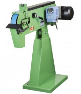 Backstand monté sur pied utilisant des bandes abrasives de 50 x 2000 mm - Devis sur Techni-Contact.com - 1