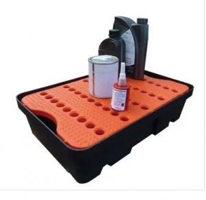 Bacs de rétention en polyéthylène avec ou sans caillebotis - Devis sur Techni-Contact.com - 1