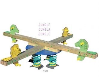 Balancier en bois pour enfants - Devis sur Techni-Contact.com - 1