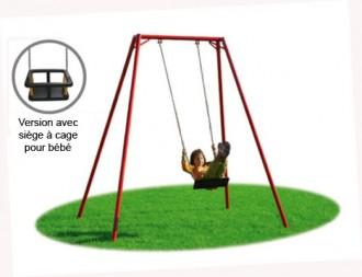 Balançoire 1 siège pour bébé - Devis sur Techni-Contact.com - 1