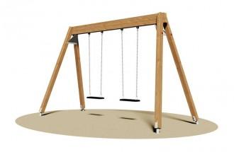 Balançoire 2 sièges - Devis sur Techni-Contact.com - 1