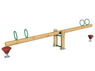 Balançoire à bascule en bois 4 places - Devis sur Techni-Contact.com - 1
