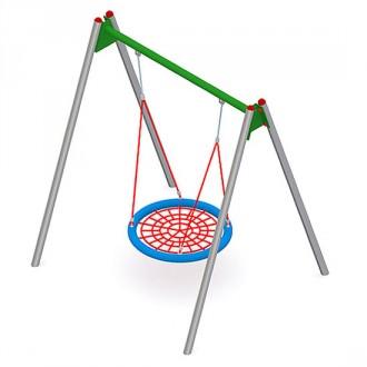 Balançoire en acier ou en bois pour enfants - Devis sur Techni-Contact.com - 6