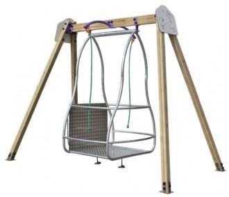 Balançoire pour fauteuils roulants - Devis sur Techni-Contact.com - 1