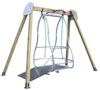 Balançoire pour fauteuils roulants - Devis sur Techni-Contact.com - 2