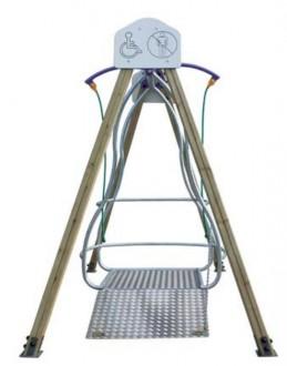 Balançoire pour fauteuils roulants - Devis sur Techni-Contact.com - 3