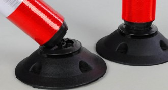 Balise articulée en polyéthylène - Devis sur Techni-Contact.com - 2