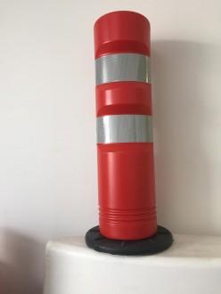 Balise de signalisation auto-relevable rouge J12 - Devis sur Techni-Contact.com - 1