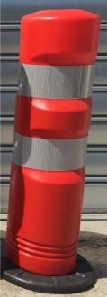 Balise de signalisation auto-relevable rouge J12 - Devis sur Techni-Contact.com - 2