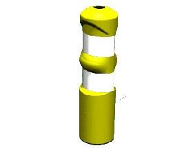 Balise de signalisation Hauteur 726 mm - Devis sur Techni-Contact.com - 1