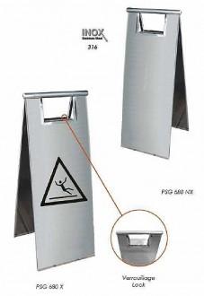 Balise sol glissant en inox - Devis sur Techni-Contact.com - 1