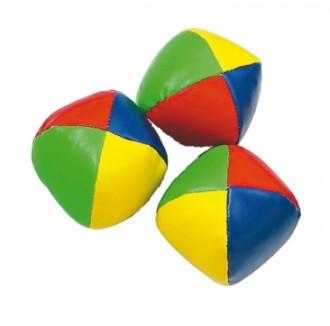 Balles multicolores à grain de jonglage - Devis sur Techni-Contact.com - 1