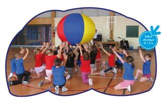 Ballon géant de motricité enfants - Devis sur Techni-Contact.com - 2