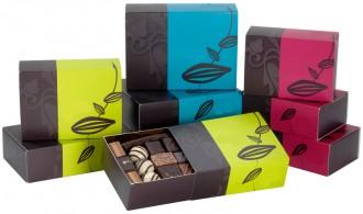 Ballotin de chocolat pour cadeaux d'affaires - Devis sur Techni-Contact.com - 1
