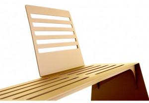 Banc Corten design - Devis sur Techni-Contact.com - 2