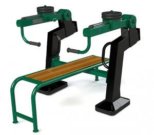 Banc de musculation extérieur - Devis sur Techni-Contact.com - 1