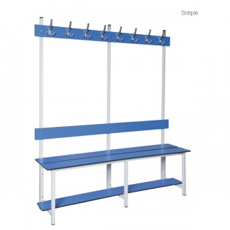 Banc pour vestiaire en aluminium - Devis sur Techni-Contact.com - 2