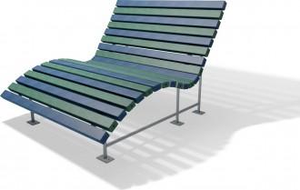 Banc relax public plastique recyclé - Devis sur Techni-Contact.com - 2