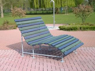 Banc relax public plastique recyclé - Devis sur Techni-Contact.com - 4