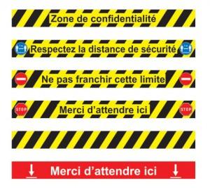 Bande adhésive antidérapante pour sol - Devis sur Techni-Contact.com - 1
