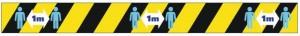 Bande de sol distanciation sociale - Devis sur Techni-Contact.com - 3