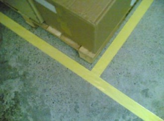 Bande et rouleau adhésif pour marquage de sol - Devis sur Techni-Contact.com - 2