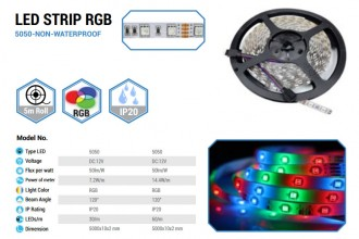 Bande Led RGB - Devis sur Techni-Contact.com - 2