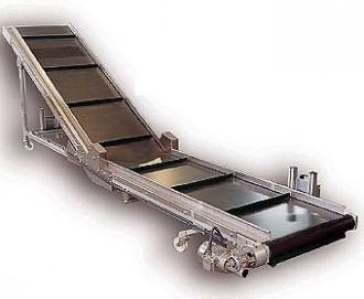 Bande transporteuse à double inflexion - Devis sur Techni-Contact.com - 1