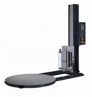 Banderoleuse semi automatique à pré-étirage motorisé - Devis sur Techni-Contact.com - 1