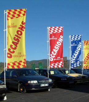 Bannière concession automobile - Devis sur Techni-Contact.com - 1