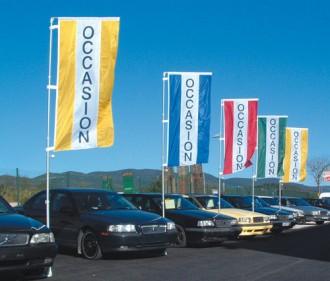 Bannière d'exposition automobile 2.20 x 0.90 m - Devis sur Techni-Contact.com - 1
