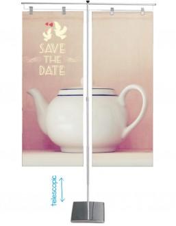 Bannière d'exposition double affichage - Devis sur Techni-Contact.com - 2