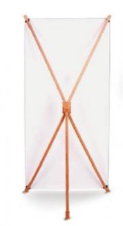 Bannière d'exposition en bambou - Devis sur Techni-Contact.com - 2