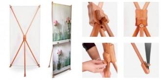 Bannière d'exposition en bambou - Devis sur Techni-Contact.com - 4