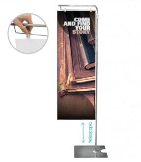 Bannière métallique d'exposition - Devis sur Techni-Contact.com - 1