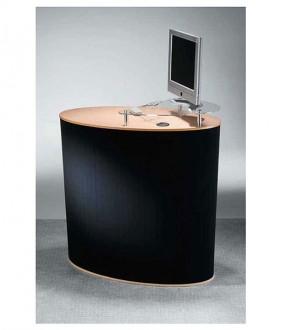 Banque stand avec support écran - Devis sur Techni-Contact.com - 1