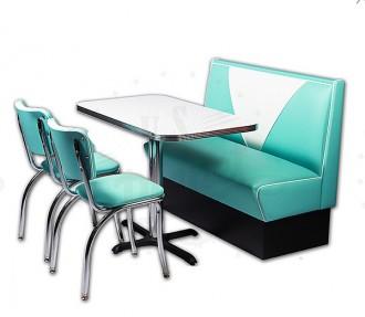 Banquette avec chaise américaine - Devis sur Techni-Contact.com - 2
