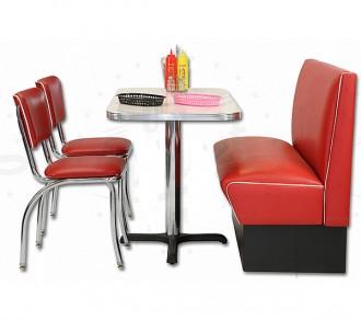 Banquette avec chaise américaine - Devis sur Techni-Contact.com - 3