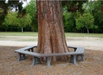 Banquette tour d'arbre à 6 modules - Devis sur Techni-Contact.com - 2