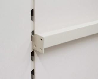 Barre de charge lisse ou perforée pour gondole - Devis sur Techni-Contact.com - 3
