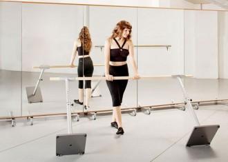 Barre de danse mobile ajustable - Devis sur Techni-Contact.com - 2