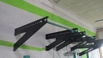 Barre de traction murale - Devis sur Techni-Contact.com - 1