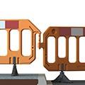 Barrière chantier en polyéthylène - Devis sur Techni-Contact.com - 4
